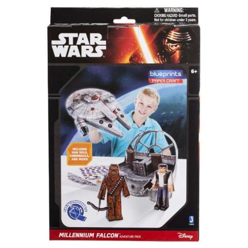 Конструктор бумажный Star Wars Сокол Тысячелетия 12905