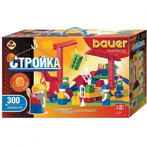 Конструктор Bauer серии Стройка, 300 элементов 204