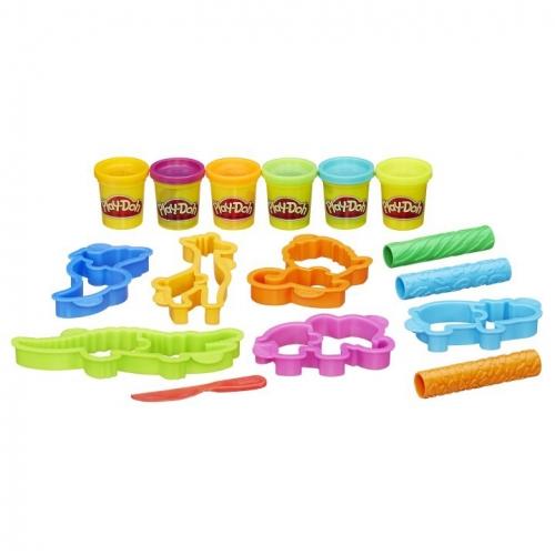 Набор пластилина Play-Doh Весёлые сафари B1168