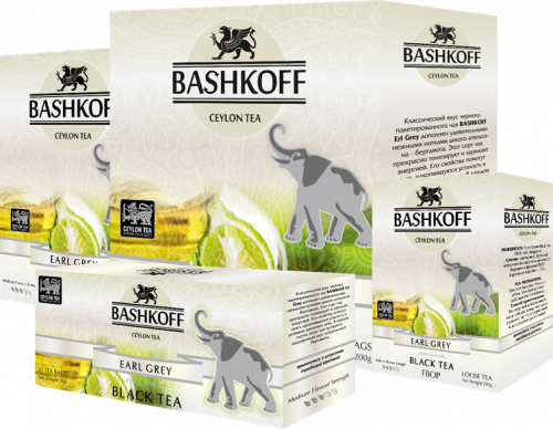 Чай BASHKOFF TEA Erl Grey Edition FBOP, 200 гр.