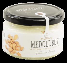 Крем-мёд Медолюбов с кедровым орехом 250мл
