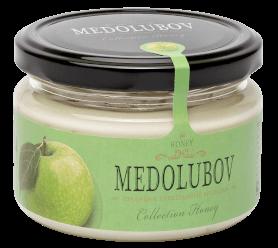Крем-мёд Медолюбов с яблоком 250мл