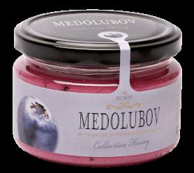 Крем-мёд Медолюбов с черникой 250мл