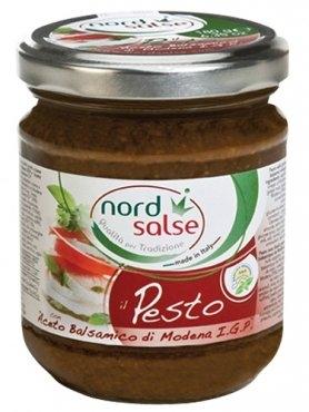 Соус Pesto с перцем чили