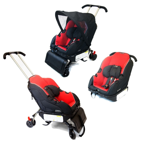 Автокресло-коляска  Sit-N-Stroll car seat, красный