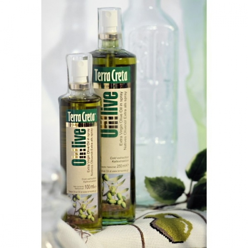 Оливковое масло Terra Creta, спрей, 250 мл