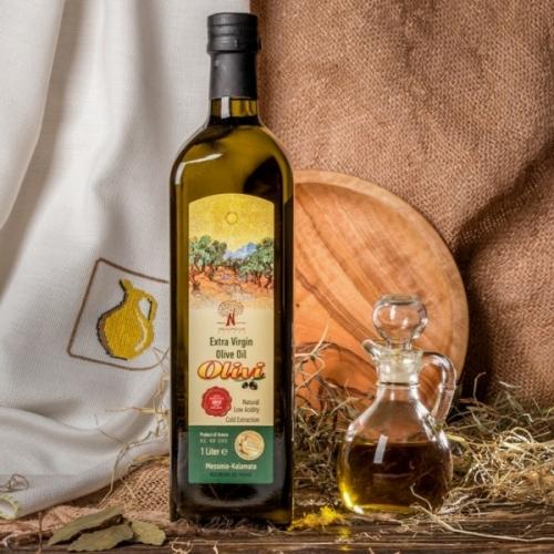 Оливковое масло Olivi, стекло, 1л