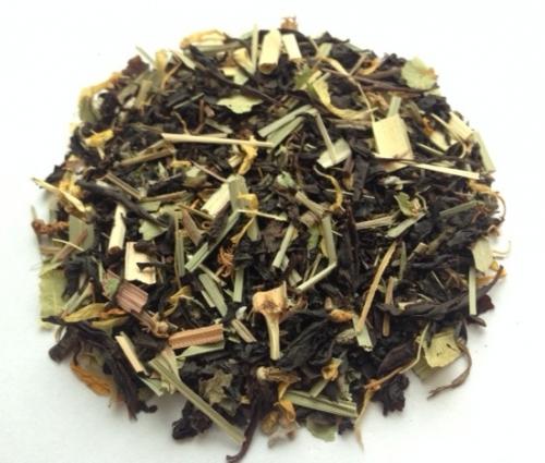 Черный чай - Для бани