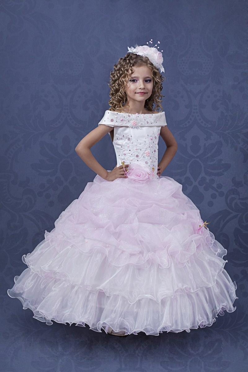 Детские платья бальные картинки