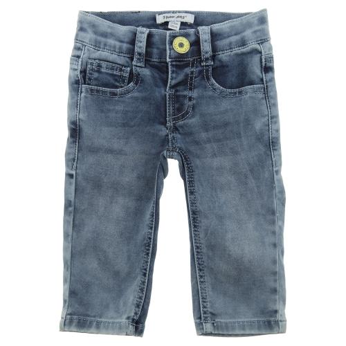джинсы из флис денима