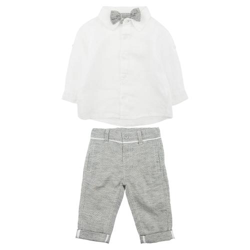 брюки и рубашка льняные