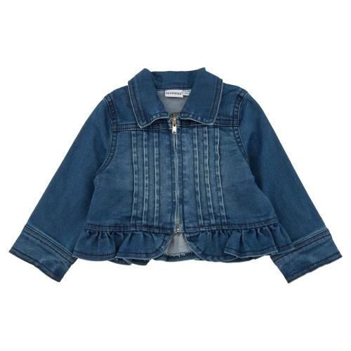 куртка джинсовая (трикотаж)