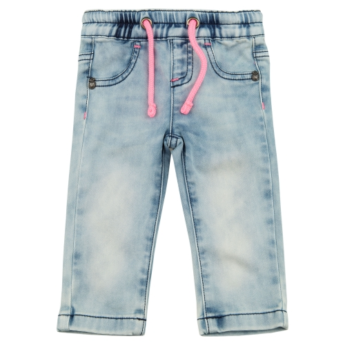 брюки из флис денима