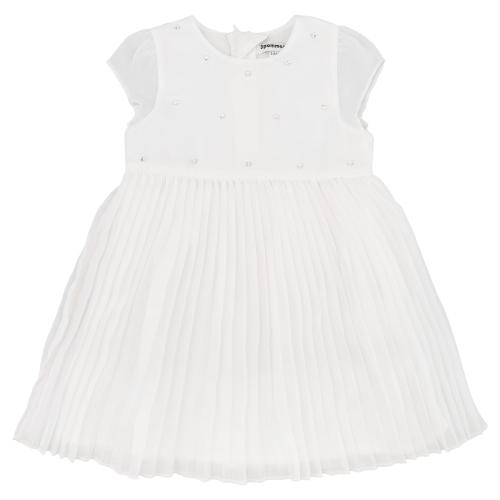 платье с юбкой плисе