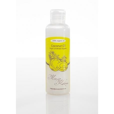 Масло КОКОСА/ Coconat Oil Virgin Unrefined Organic / нерафинированное, органик девственное