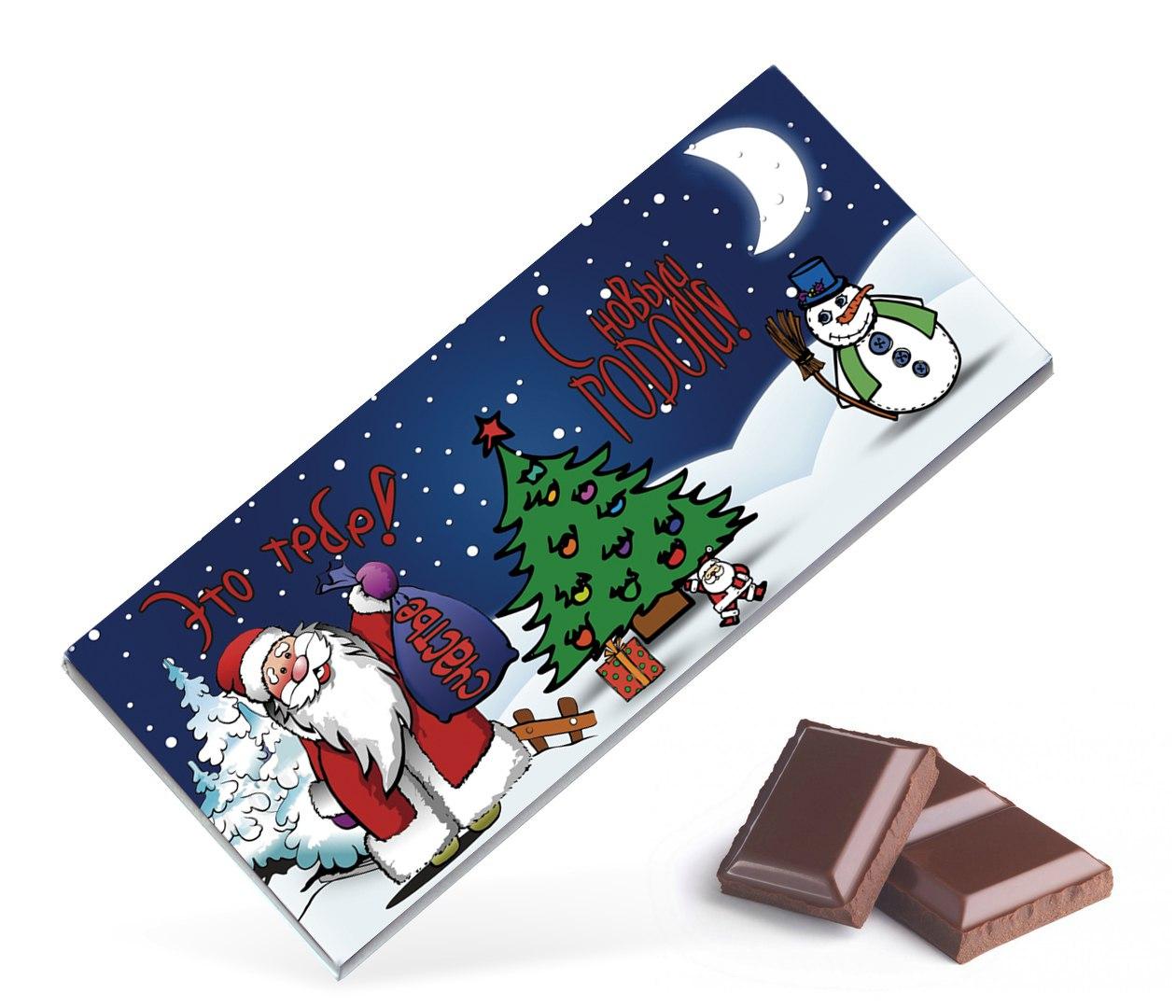 поздравление с новым годом шоколадка реквизиты обязательны