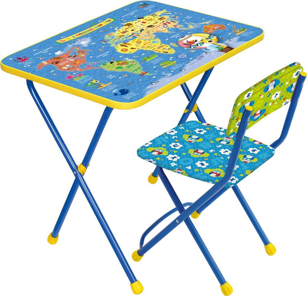 комплект детской мебели маша и медведь азбука 4 ку118