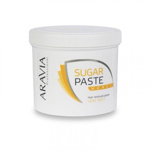Сахарная паста для депиляции Медовая (оч.мягкая) ARAVIA Professional, 750г