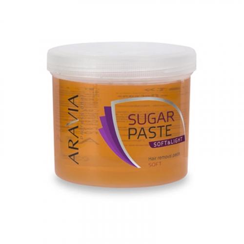 Сахарная паста для депиляции Мягкая и легкая (мягкая) ARAVIA Professional, 750г
