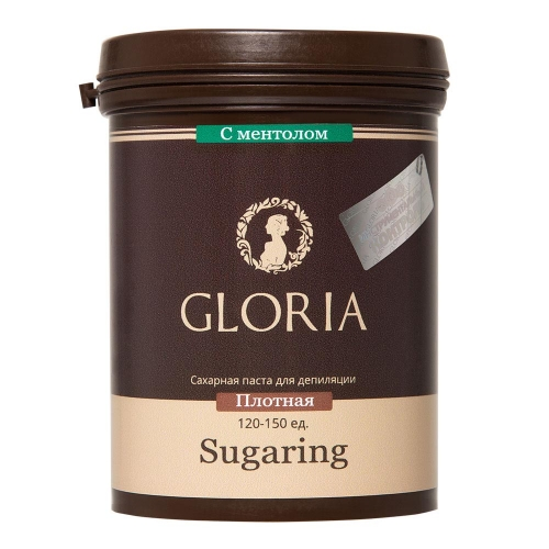 Сахарная паста GLORIA  твердая с ментолом,  330 г