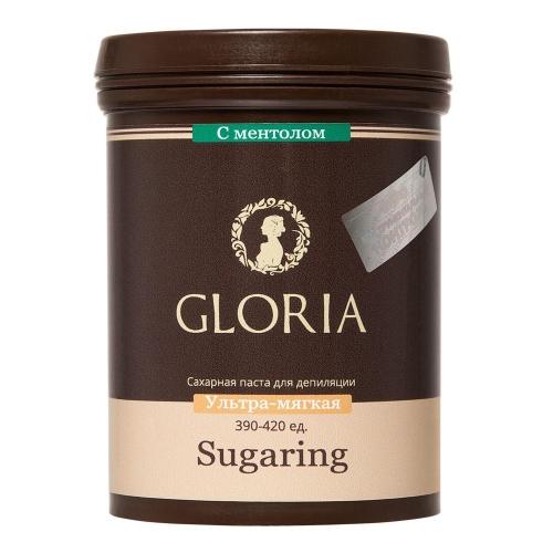 Сахарная паста GLORIA  ультра мягкая с ментолом,  330 г
