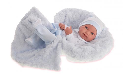 2 шт. доступно/ 5005B Кукла-младенец Эдуардо в голубом, 42 см