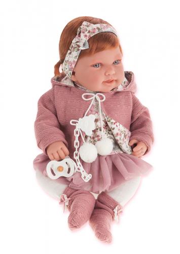 1 шт. доступно/ 3370P Кукла Саманта в розовом, 40см