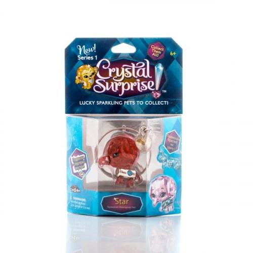 Crystal Surprise-фигурка Слоник к+браслет и подвески  (в ассортименте)