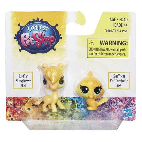 Игрушка Hasbro LPS радужная колллекция 2 радужных пета