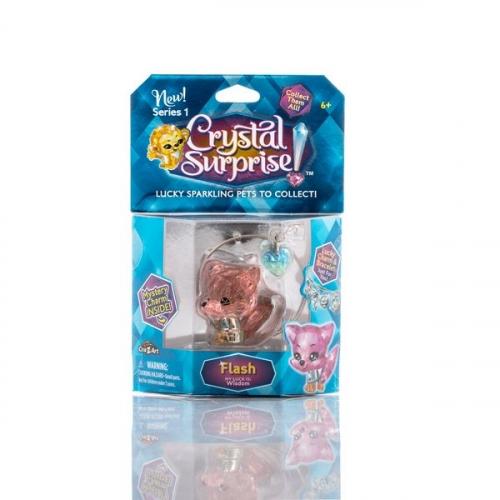 Crystal Surprise-фигурка Лисенок+браслет и подвески  (в ассортименте)