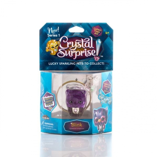 Crystal Surprise-фигурка Сова+браслет и подвески  (в ассортименте)