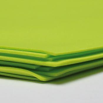 Фоамиран (ФОМ ЭВА, Иран)  №119 желто-зеленый