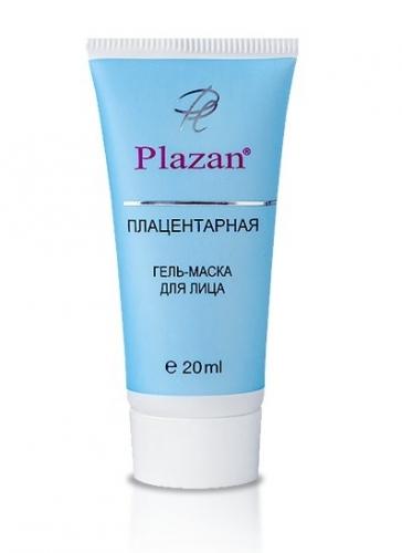 Плацентарная гель-маска для лица, 20мл