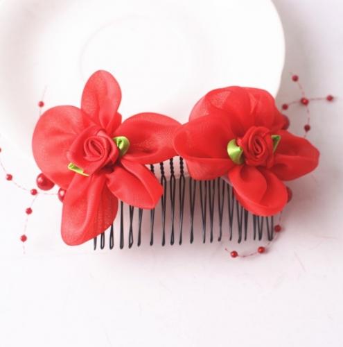 Заколка-гребешок для волос Весенний день