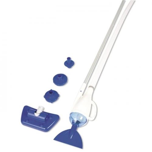 Пылесос для бассейна, вакуумный, 3 предмета: 2 насадки, ручка 190см Bestway