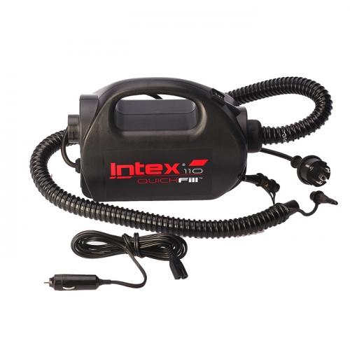 Насос электрический 220V/12V(автомобильный), 2-cкоростной 68609 INTEX