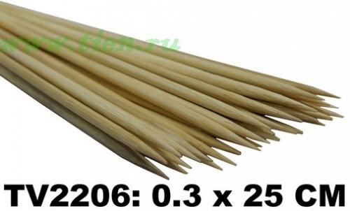 Шпажки для шашлыка TV2206A (Цена за 100 шт/уп)