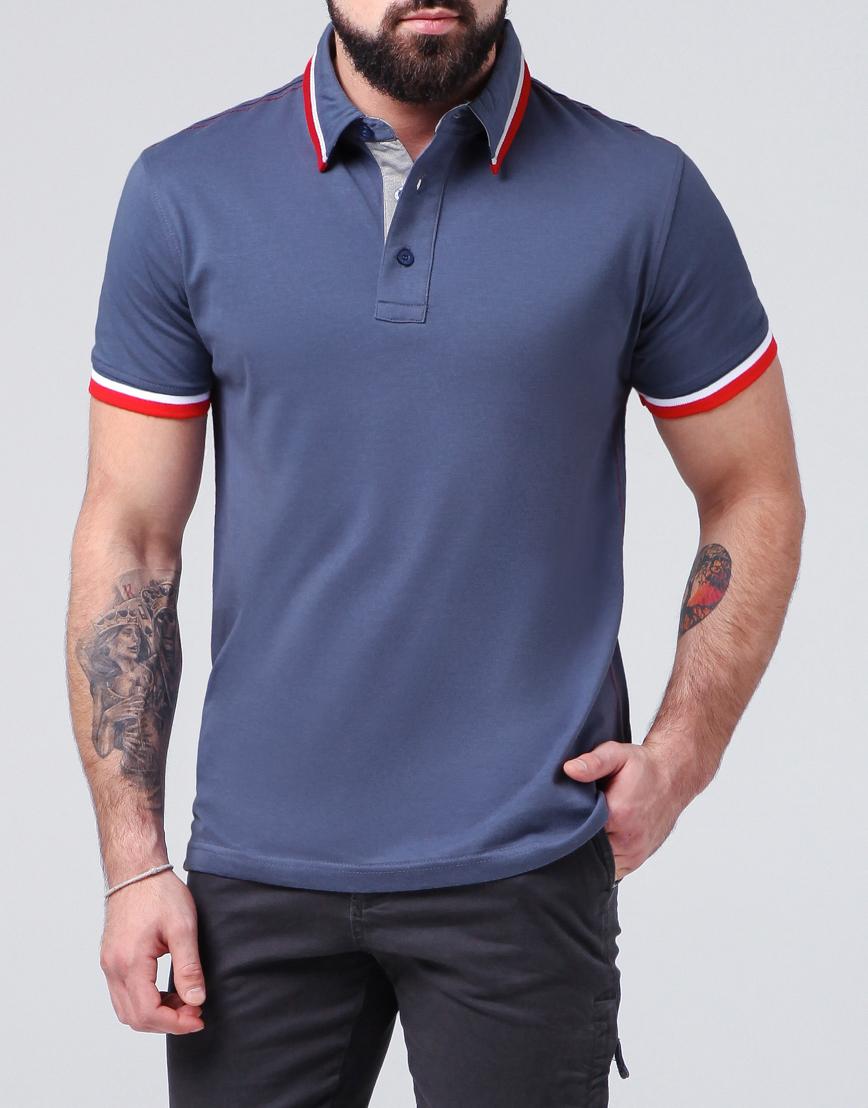 c90048541f97 Трендовая футболка поло Lacoste красная модель 71033