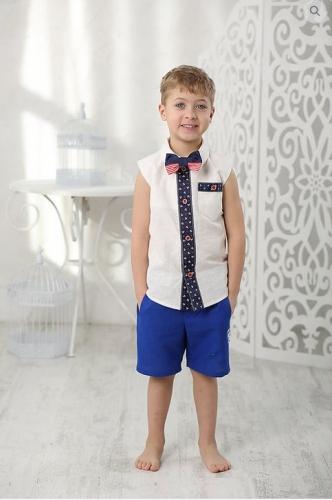 рубашка для мальчика Франт М-403 белый