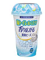 Шарики дезодорирующие для кошачьего туалета, мягкий мыльный запах, 450 мл