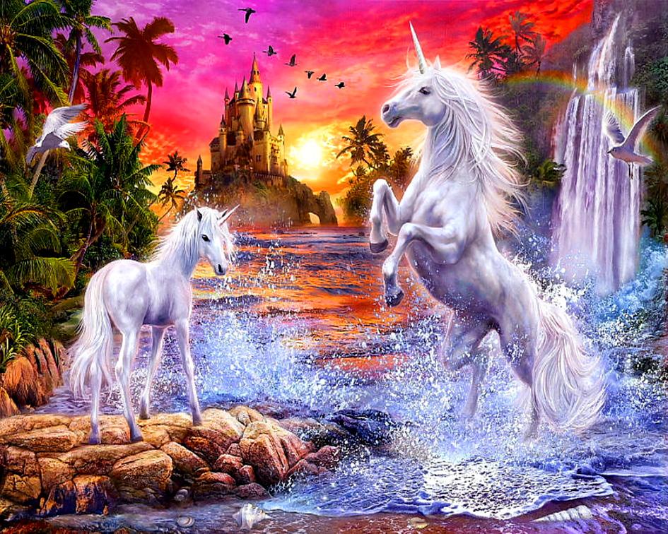 вашей картинки фэнтези животные и природа окно, свет