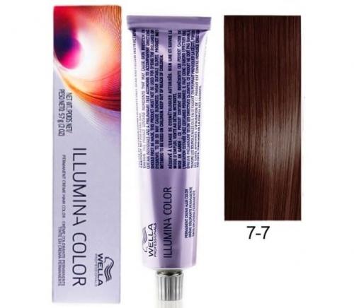 Wella Professional Illumina Color 7/7 блонд коричневый 60 мл