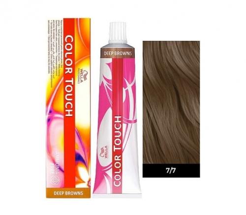 Wella Color Touch 7/7 блонд коричневый 60 мл