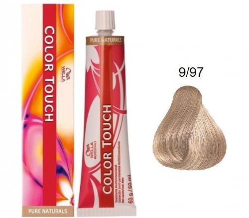 Wella Color Touch 9/97 очень светлый блонд сандре коричневый 60 мл