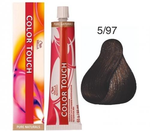 Wella Color Touch 5/97 светло-коричневый сандре коричневый 60 мл