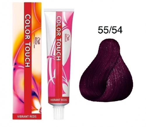 Wella Color Touch 55/54 красный лен 60 мл