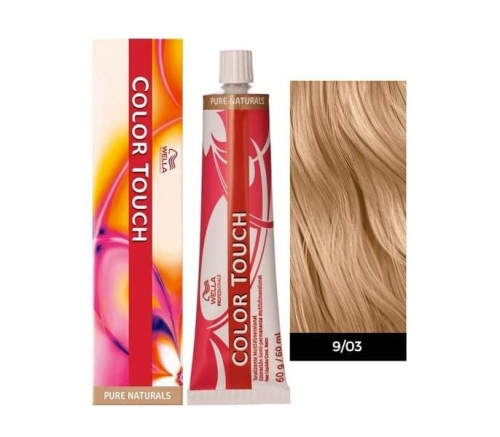 Wella Color Touch 9/03 лен 60 мл