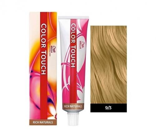 Wella Color Touch 9/3 очень светлый блонд золотистый 60 мл