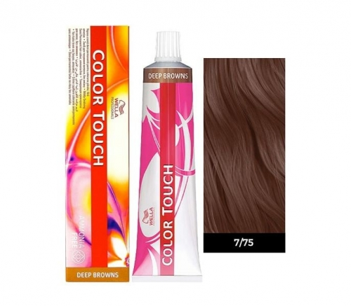 Wella Color Touch 7/75 светлый палисандр 60 мл