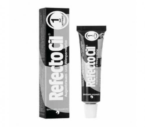 RefectoCil - Краска для бровей и ресниц № 1 Черная 15 мл